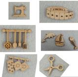 miniatura in legno