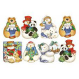 "Fommy Deco tema ""pupazzi neve"""