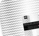 Love Busquets Papeles Decorados silver