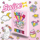 diario swipe unicorno