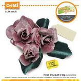 rosa bouuquet e tag  99620