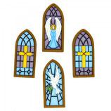 BOTTONI DECORATIVI stained glass