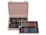 Rembrandt soft pastels landscape selection de luxe box 300H60L Da 60 pezzi con scatola in legno