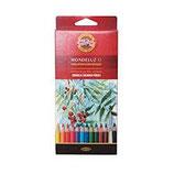 mondeluz colori acquarellabili koh-i-noor confezione da 12