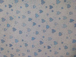 panno quadrotto 50x50 cm bianco con curicini
