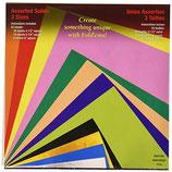 carta per origami Yasumoto 55 fogli diverse misure