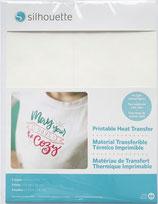 termo transfer per tessuti chiari 5 fogli in a4