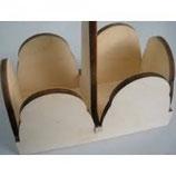 portabicchieri in legno