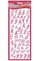 Alfabeto Adesivo stamperia Sbalf4