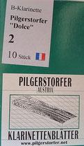 Pilgerstorfer B-Klarinettenblätter Böhmsystem