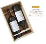 Coffret 2 Magnums 2008 + 2010  Grands Millésimes  -