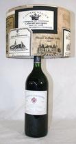 """Abat-Jour """"Esprit du Vin"""" - Grand modèle avec branchement électrique"""
