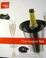 Coffret Champagne Set Vacuvin