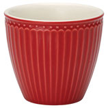 GreenGate Alice Latte Cup red
