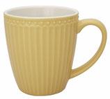 GreenGate Alice Mug honey mustard