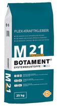 """BOTAMENT M 21 Flexkleber """"Premium"""" 25 kg"""