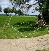Dodekaeder Massiv Buche begehbar