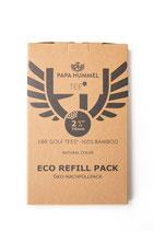 Premium Golf Tees - 70mm - 160 Stück - Öko-Nachfüllpack