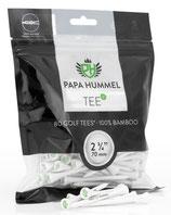 Premium Golf Tees - 70mm - 80 Stück - 100% Bambus