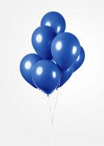 Latex - Luftballons - ca. 30cm Durchmesser, dunkelblau, 50 Stck.
