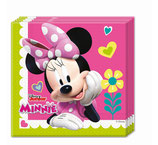 """Minnie Mouse Happy Helpers"", Servietten - 20 Stück - 33cm x 33cm"
