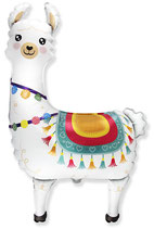 "Folienballon ""Lama"" ca. 75cm hoch"