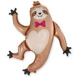 "Folienballon ""Faultier Sloth"" ca. 89cm hoch"
