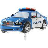 """Folienballon """"Polizei Auto Police """", ca. 75cm hoch"""