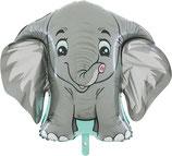 "Folienballon ""Elefant"" ca. 75cm hoch"
