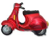 """Folienballon """"Motorroller Moped  """" ca. 65cm hoch"""