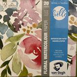 Van Gogh Aquarellpapier von Frau Hölle 300G FSC-Mix