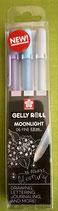 NEW!Gelly Roll 3er Set Moonlight Set Calm