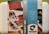 Van Gogh Aquarellfarbe Pocket Box Standart