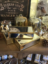 Spiegelbox Antique Gold