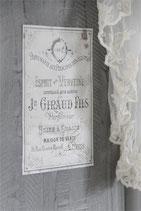 """Jeanne d'Arc Living Vintage Paint Möbeldekoration """"Giraud Fils 1"""""""