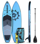 "Crossbreed Airtech Inflatable SUP 11"" blue"
