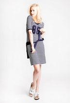 Kleid gestreift von SANI BLU Gr. 42