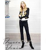 Jeans Sinty Cropped Deco von RAFFAELLO  ROSSI