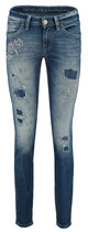 Jeans Sinty Destroyed Stick von RAFFAELLO ROSSI Gr. 40