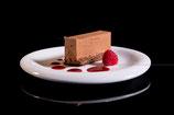 Tranche fondante chocolat-praliné croquant