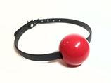 Anfertigung Silikonball Knebel Rot