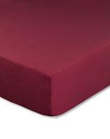 Spannbetttuch für Wasserbetten, Farbe bordeaux