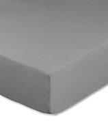 Spannbettlaken für Boxspringbetten, Farbe grau