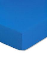 Kinderbetten-Spannbetttuch in royalblau