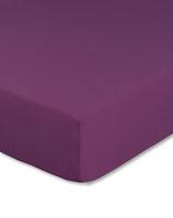 Spannbetttuch für Wasserbetten, Farbe aubergine