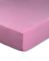 Kinderbetten-Spannbetttuch in rosa