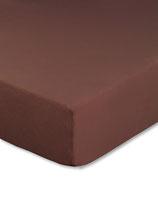 Spannbetttuch für Wasserbetten, Farbe schokobraun