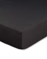Spannbetttuch für Wasserbetten, Farbe schwarz