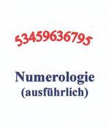 N01 Numerologie-Deutung