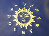 College-Tasche Sonne, Mond und Sterne